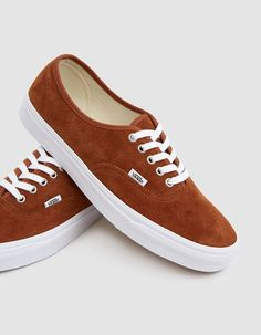 79490d0c59 Vans   Suede Authentic Sneaker in Brown. Vans SuedeSneakerTennisTrainersReal  TennisSneakersAthletic ShoesPlimsoll Shoe