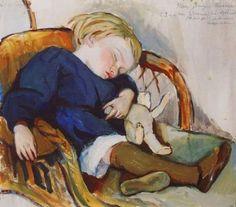 Serebryakova Zinaida, So Sleep Binka