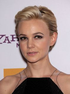 hair styles for short women formal comb back pixie cut carey mulligan hairstyle 4485 | 7d620232bbc7af2358cf630e2c4485ff hot haircuts pixie hairstyles