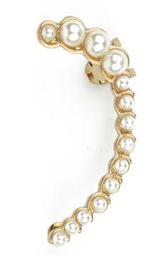 Pearl Ear Cuff, $6.99
