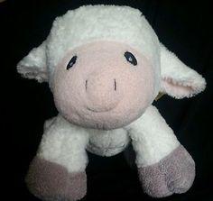 ORVIS Lamb Sheep Plush Stuffed Prays Now I lay me down to sleep Prayer Farm Talk