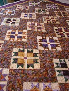 I just love star quilts.