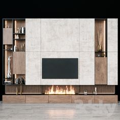 Overige – tv-zone – models – Welcome Tv Unit Tv Cabinet Design, Tv Wall Design, Tv Unit Design, Living Room Tv Cabinet, Living Room Tv Unit, Fireplace Tv Wall, Fireplace Design, Wall Tv, 3d Wall