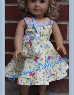 American Girl Doll Clthes, 18 Inch Doll Clothes, Ag Doll Clothes, Liberty Jane…