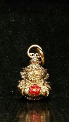 Hey, I found this really awesome Etsy listing at https://www.etsy.com/uk/listing/467869022/thai-amulet-locket-pendant-phra-rahu-om