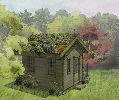 S h e l t e r is a response to the overwhelming requests for affordable and design-conscious small-scale green roof structures.