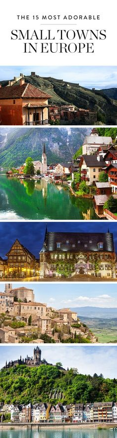 Bet you haven't been to these15 incredible small towns across the European continent. Full of picturesque charm, history and character, they're worth a spot on your travel bucket list.