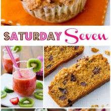 7 must make recipes including Mint Chocolate Chip Cupcakes, Strawberry Margaritas, Peanut Butter Caramel Corn, Pumpkin Cheesecake Muffins, and more!