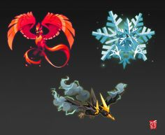 Legendary birds, switched types by vinciruz on DeviantArt Brock Pokemon, Pokemon Mix, Ghost Pokemon, Pokemon Fusion Art, Pokemon Comics, Pokemon Memes, Pokemon Fan Art, New Pokemon, Cool Pokemon