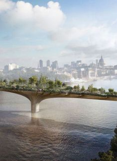 Garden Bridge, Thomas Heatherwick, world architecture news, architecture jobs [Future Architecture: http://futuristicnews.com/category/future-architecture/]