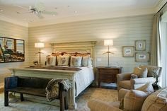 Lowcountry Residence traditional bedroom