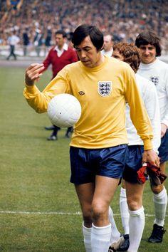 Gordon Banks arquero de la Selección Inglesa en 1966