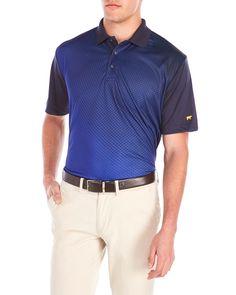 Jack Nicklaus Printed Short Sleeve Polo