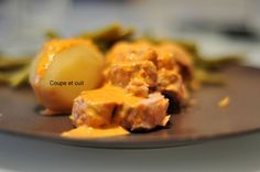 Filet mignon de porc et sa crème de chorizo