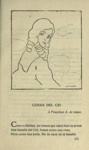 Rubén Darío - Cosas del Cid, 1917
