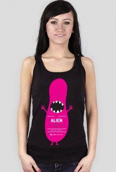 Alien tongue (język obcy) - damska bokserka dla tych, co lubią wystawiać język :)