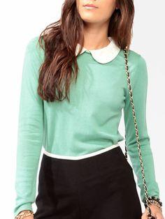 Collar + sweater