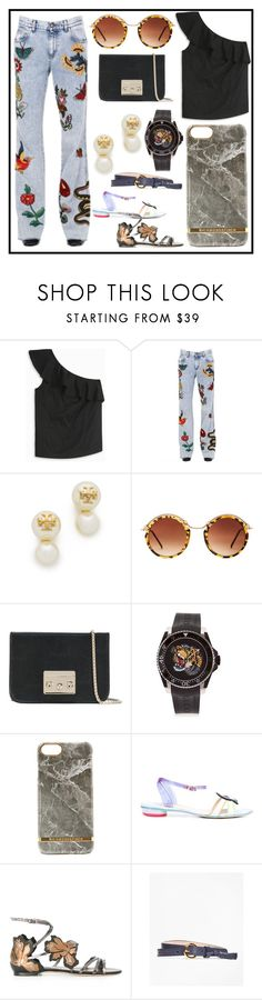 """""""Fashion for all"""" by denisee-denisee ❤ liked on Polyvore featuring Theory, Gucci, Tory Burch, Spitfire, Furla, Sophia Webster, Jimmy Choo and Brooks Brothers"""