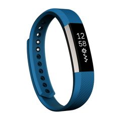 [$2.38] For Fitbit Alta Watch Oblique Texture Silicone Watchband, Small Size, Length: about 18.5cm(Blue)