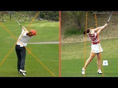 [Slow HD] CHUN In-Gee Driver Golf Swing Dual View (3)_KLPGA Tour - YouTube