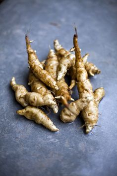 Jerusalem Artichokes-I'm very excited that I bought some of these at the farmers market, but not exactly sure what I want to do with them?!?!