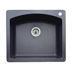 Blanco 440210 Diamond 25-Inch-by-22-Inch Single Bowl Kitchen Sink, Anthracite Finish Blanco,http://www.amazon.com/dp/B0002YXQVO/ref=cm_sw_r_pi_dp_WRfSsb0AQ68329EA