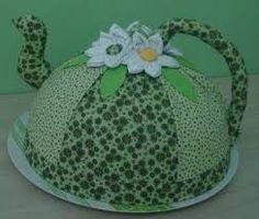 Resultado de imagem para pinterest cobre bolo chaleira com molde