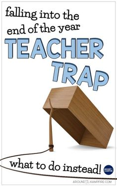 Avoid these end of the year classroom management mistakes that tired teachers can easily make. These easy ideas for teachers show what you can do instead to keep your students engaged and your classroom running smoothly until the end of the year. First Year Teachers, New Teachers, Elementary Teacher, Teacher End Of Year, Kindergarten Teachers, Upper Elementary, End Of Year Activities, Teaching Activities, Teaching Tips