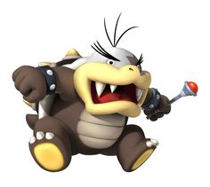 is Bowser's sixth oldest son and a part of the koopalings. Known as Big Mouth Koopa Jr. in The Adventures of Super Mario Bros. 3 & Super Mario World. Game Mario Bros, New Super Mario Bros, Super Mario Art, Super Mario World, Super Mario Brothers, Mario Bros., Mario And Luigi, Super Smash Bros, Mario Birthday Party