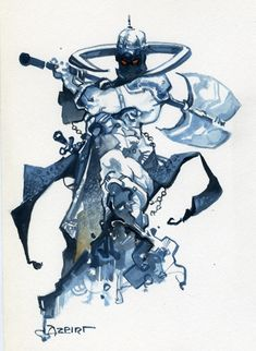 Alfonso Azpiri, DeathDealer Comic Art