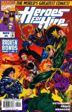 Heroes for Hire (1997 1st Series) 5