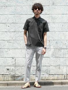 e523ac1894c nano・universe men's STAFF(nano・universe)|nano・universeのシャツ/ブラウスを使ったコーディネート