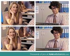 The art of flirtation: The IT Crowd