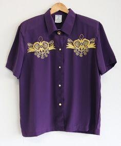 Plus Size Vintage, Vintage Shirts, Size 14, Button Down Shirt, Men Casual, Trending Outfits, Pattern, Mens Tops, Clothes