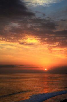 Beach Sunset at San Clemente, California – USA