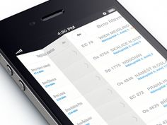 Trainboard - app for train commuters | Designer: The Funtasty