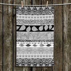 Unique Bathroom Towels | Pom Graphic Design - Tribal and Nature Play