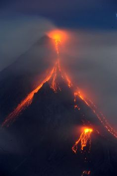 awesome VOLCANO PICTURES: Philippines' Mayon About to Blow?