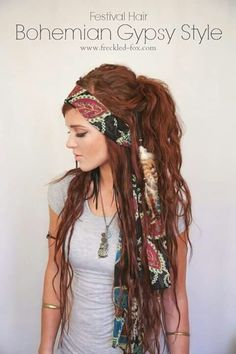Bohemian is a bang on a trend! Effortless beauty.. boho is one of the very first things that comes to mind.