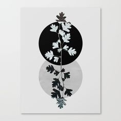 Geometry and Nature II Canvas Print by Mareike Böhmer | Society6