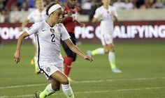 USWNT star Mallory Pugh ready for Rio as coach Jill Ellis looks to the future Us Soccer, Soccer Players, Olympic Qualifying, Major League, Rio, Football, Future, Stars, Inspiration