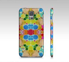 Colorful Polka-dot Abstract Samsung Galaxy5 Case