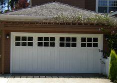 carriage house garaage doors | Custom Arch Paint Grade Monterey Paint Grade