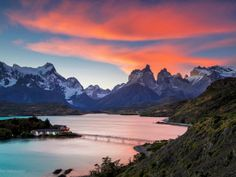 Nationaal park Torres Del Paine in Chili