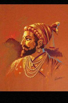 Shivaji Maharaj Painting, Shivaji Maharaj Hd Wallpaper, Naruto Wallpaper Iphone, Poster Color Painting, Warriors Wallpaper, Abstract Face Art, India Painting, Hd Wallpapers 1080p, Ganesha Painting