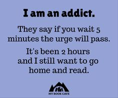 Are you an addict? #booklovers #bookaddict #amreading