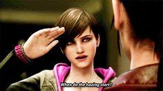 how old is moira burton Moira Burton, Rebecca Chambers, Resident Evil Game, Revelation 2, Evil Art, Female Characters, Cute Girls, Claire, Video Games