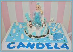 Virginias Cake: Tarta Frozen Candela