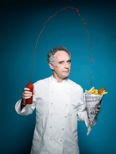 Chef Ferran Adria by Pal Hansen. Corporate Portrait, Business Portrait, Chef Pictures, Sushi Master, Photo Food, Cooking Photography, I Chef, Food Science, Chef Recipes