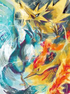 pokemon Articuno Zapdos Moltres Legendary Pokemon